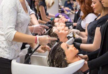 Entretien d'une tête à coiffer