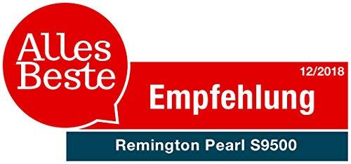 Remington S9500 Fer à Lisser, Lisseur Pearl, Soin Eclats de Perles, Plaques Souples XL Céramique Avancée, Cheveux Brillants