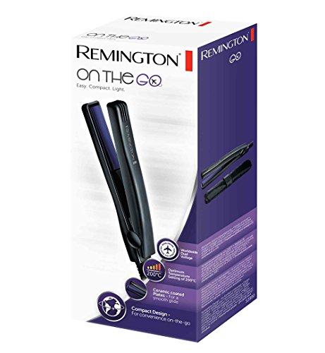 Remington Fer à Lisser, Lisseur de Voyage, Plaques Céramique Avancée, Ultra Compact - S2880 On The Go