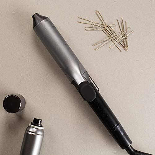 Remington CI5538 Fer à Boucler, Boucleur Céramique Pro Big Curl, Antistatique, Tourmaline Ionique, Glisse Facile, 8 Températures