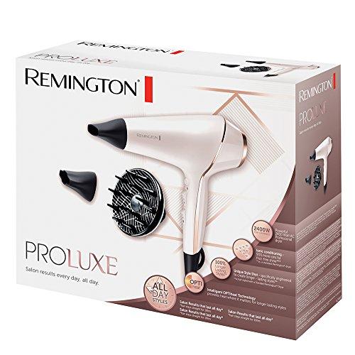 Remington Sèche-Cheveux Professionnel Ionique 2400W, Température Ciblée et Adaptée - AC9140 Proluxe